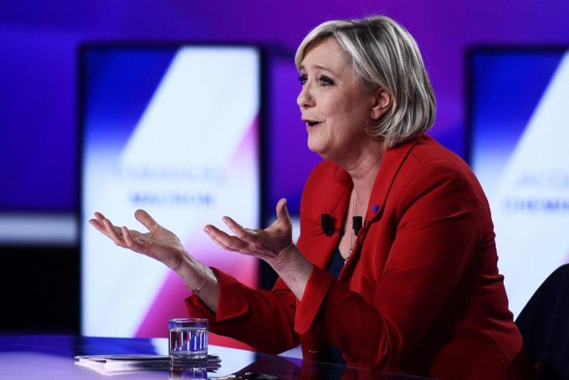 Trump peab Le Peni Prantsusmaa kõige tugevamaks presidendikandidaadiks