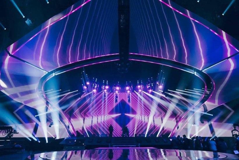 FOTOD | Eurovisioni lava on valmis! Vaata, millisel laval Koit ja Laura võitu püüdma hakkavad