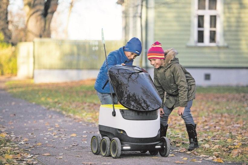 Eesti pakirobotid paiskavad segi mitmemiljardilise kullerteenuste äri