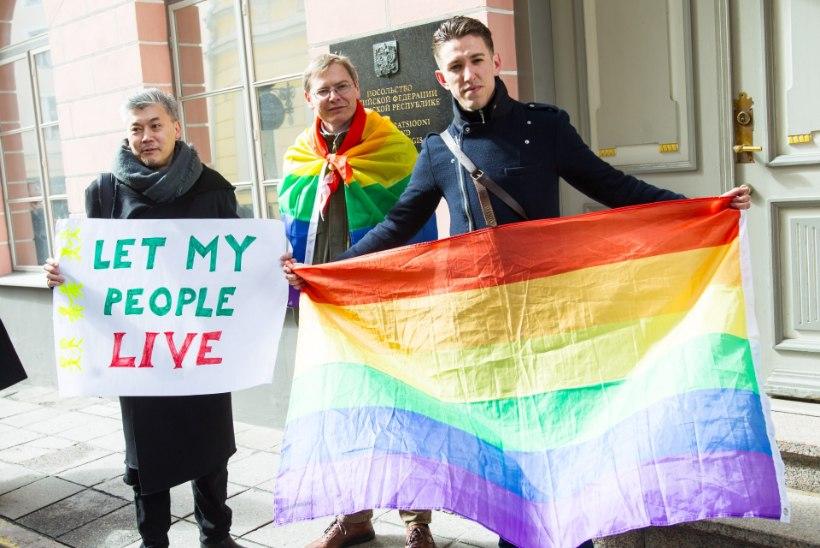 Tallinnas toetati Tšetšeenia homosid