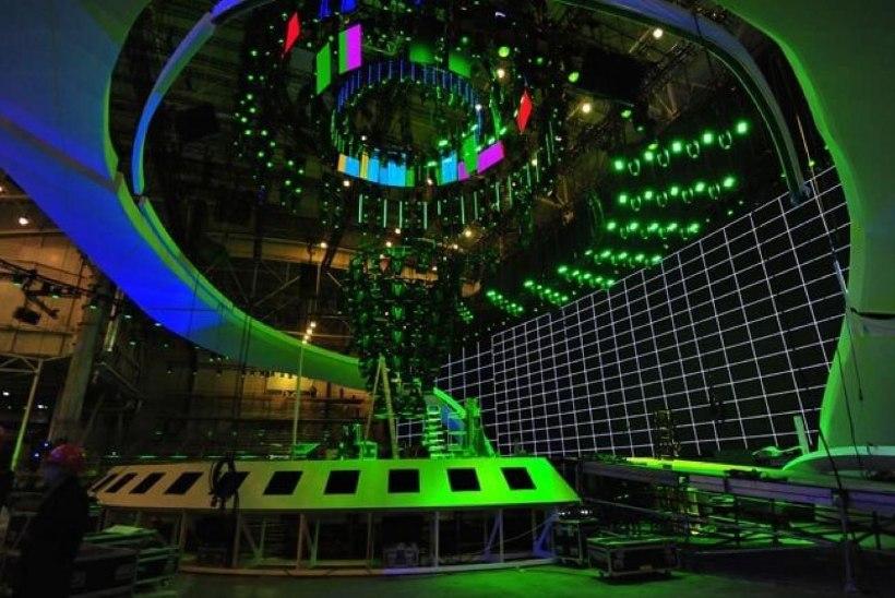 Eurovisioni lava on valmis ja ootab esinejaid!