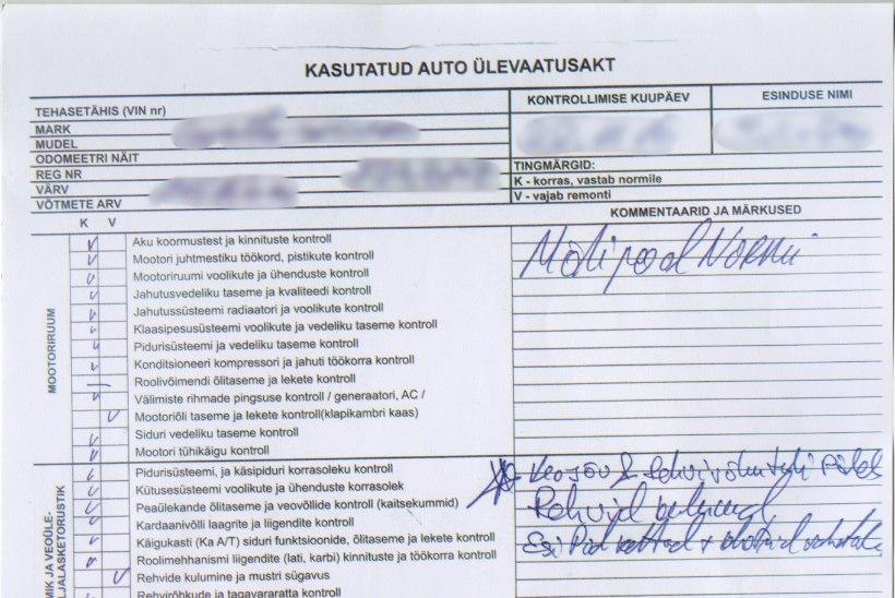 Kasutatud auto ostmine esindusest: ostja peab vigadest teadlik olema