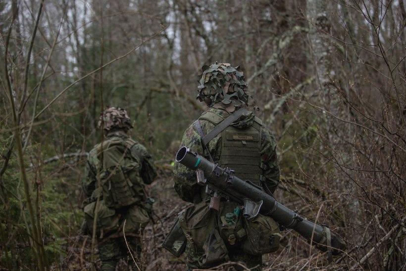 GALERII   Kaitseväelased viisid läbi lahinglaskmised