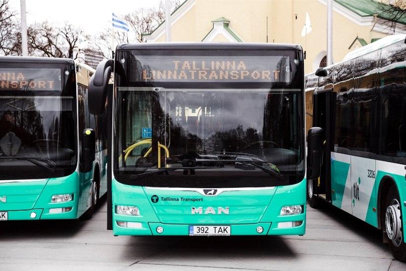 Tallinna uued bussid toodavad pidurdades elektrit