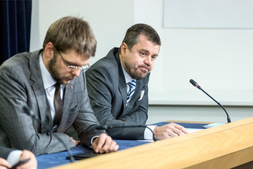 """Reinsalu ja Ossinovski """"Foorumi"""" saates: Reformierakond on mitu riigieelarvet defitsiiti lasknud"""