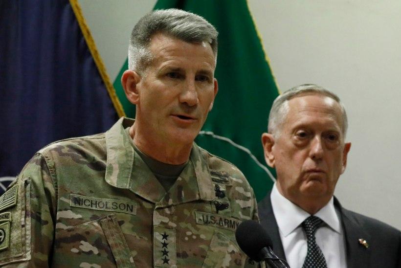 USA kindral: Venemaa relvastab Afganistanis Talibani äärmuslasi
