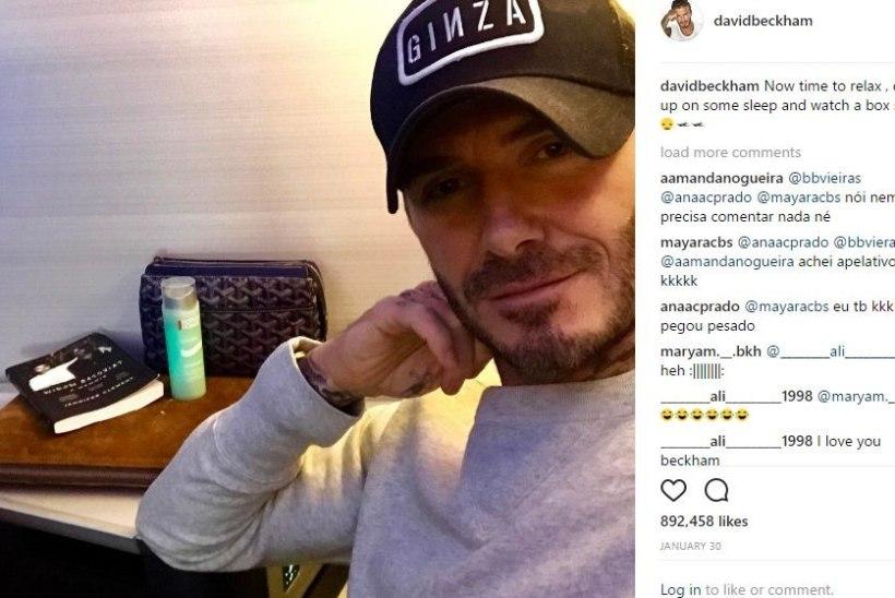 Kuidas reisida nagu David Beckham?