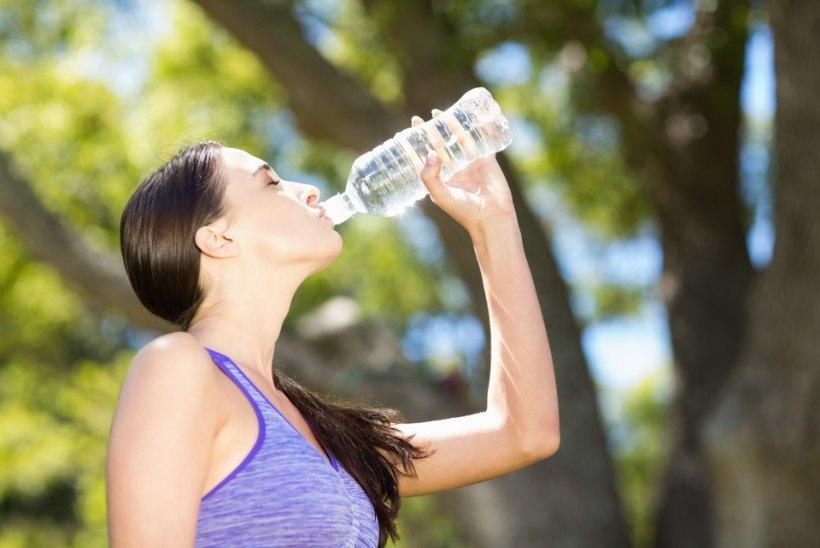 14 märki, et peaksid rohkem vett jooma