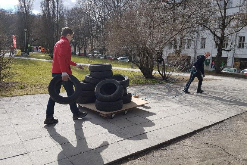 FOTOD | Vaata, millega tudengid täna Tartus tegelesid