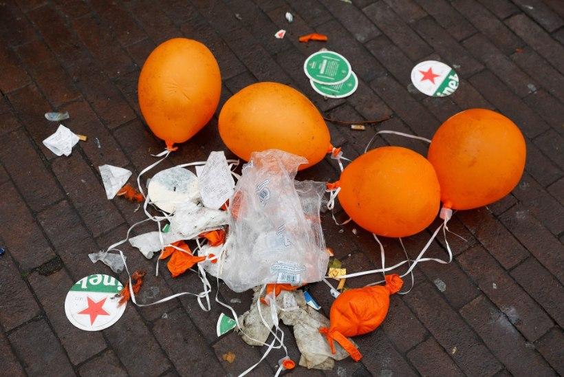 GALERII | KIREV PIDU: hollandlased tähistasid kuningapäeva