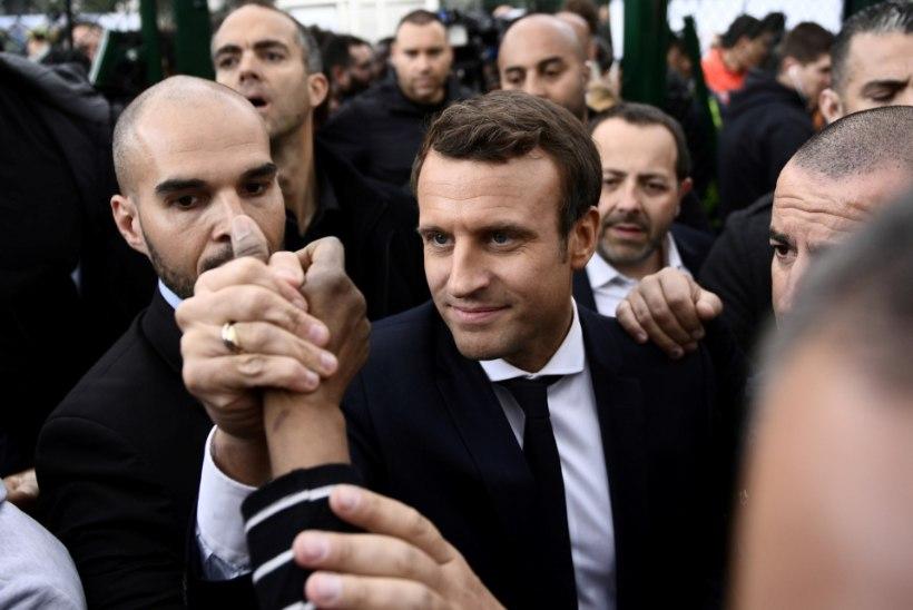 Prantsuse presidendikandidaadi karmid sõnad Poolale ja Vene meediale