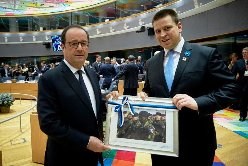 FOTO | Jüri Ratas tunnustas Hollande rolli Euroopa Liidu otsustusvõimelisena hoidmisel