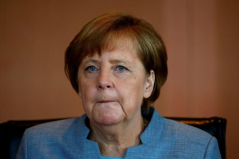 Angela Merkel: ''Macron oleks Prantsusmaale tugev president,''