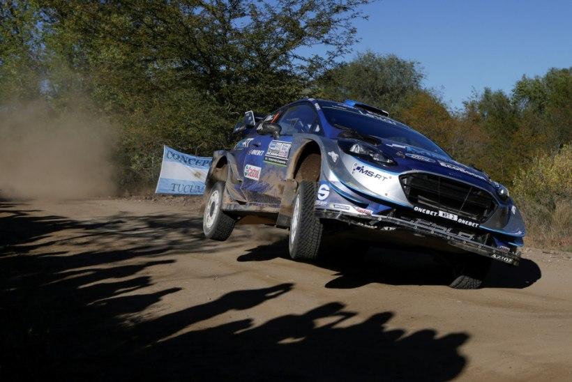 Ford Fiesta domineerib Argentiinas, Tänak ihkab võidelda teise koha eest