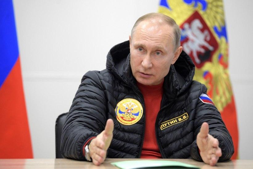 Putin ei näe kliimamuutuse taga inimtegevust
