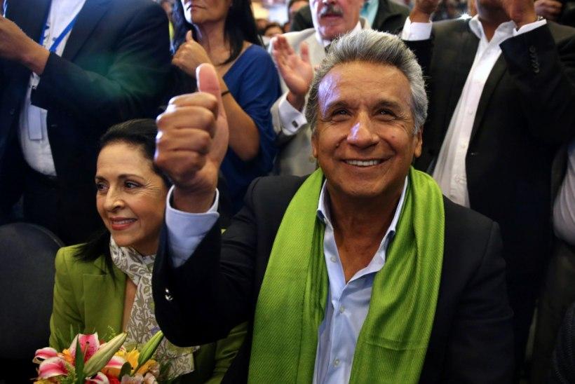 Ecuadori presidendiks valiti Lenin