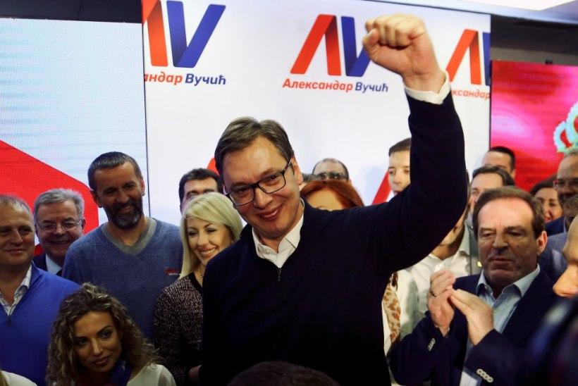 Serbia presidendiks saab peaminister Aleksandar Vučić