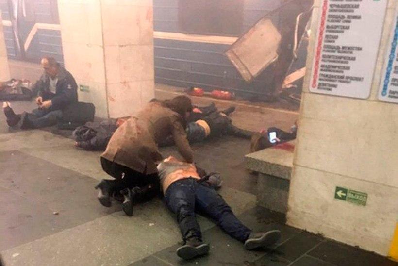 Põrgu Peterburi metroos