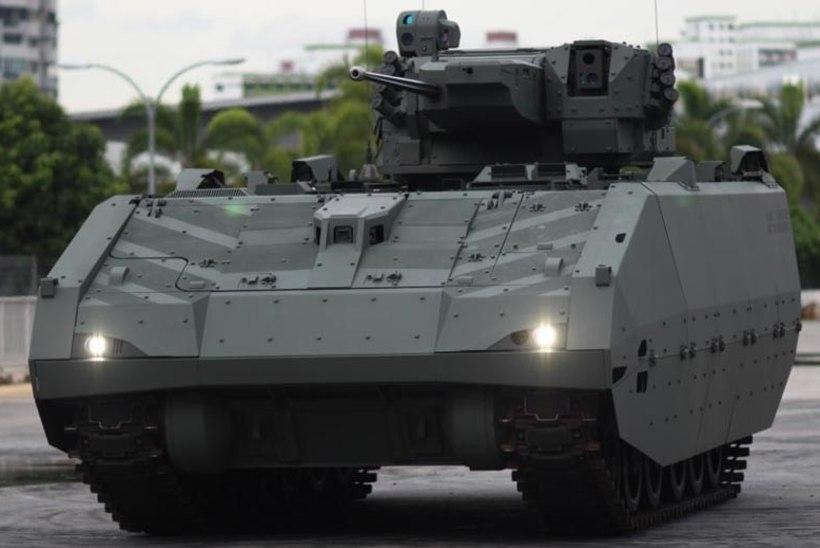 VIDEO | Vaata Singapuri relvajõudude uue põlvkonna soomukit!