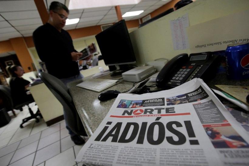 Mehhiko ajaleht lõpetas pärast ajakirjaniku surnuks tulistamist ilmumise