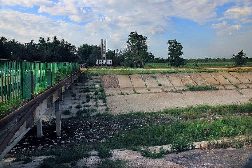 Ukraina sulges Krimmi veevarustuse kindlalt ja lõplikult