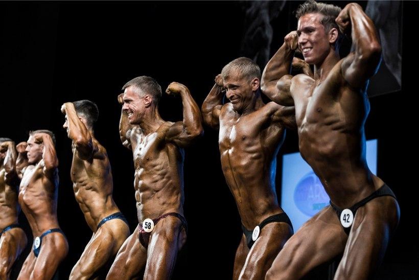 GALERII | FANTASTILISED LIHASED JA SPORTLIKUD DAAMID! Eesti kulturismi- ja fitnessiparemik viskas laval uhkeid poognaid