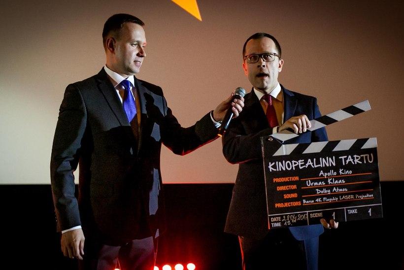 GALERII | Tartus avati võimas kino, linnapea kuulutas välja kinopealinna