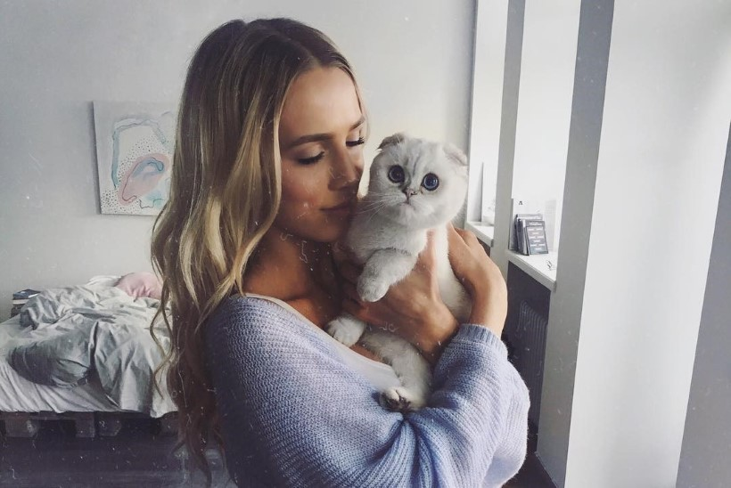 Liis Lemsalu kassipoeg on sarnaselt omanikule tõeline staar!