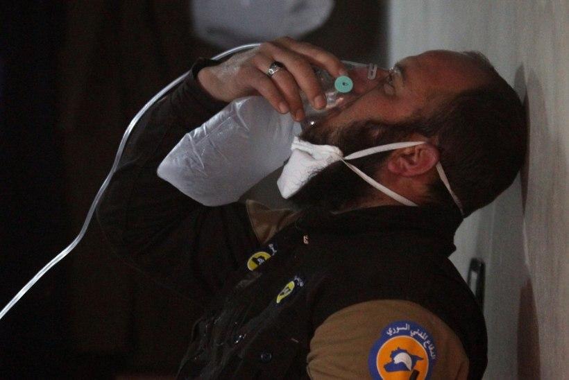 Süürias hukkus keemiarünnakus vähemalt 58 inimest, nende hulgas 11 last