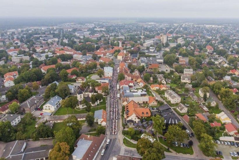 Saaremaa palgatase on langenud Eesti madalaimaks