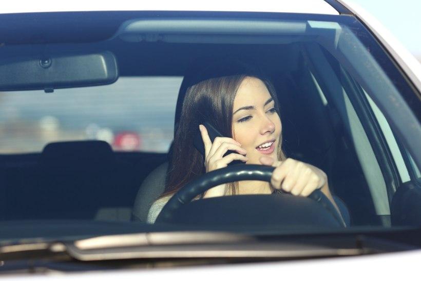 TÄNA ON MOBIILIVABA PÄEV: Kas sinagi oled eluohtlik autojuht?
