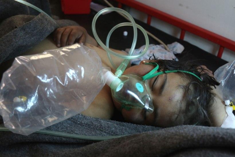 Venemaa viitab Süüria keemiarünnakus mässuliste relvadele