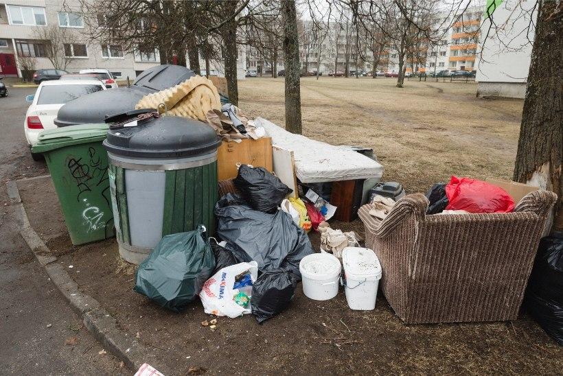 Jäätmekäitlus Tallinna moodi? Õismäe elanikud upuvad prügisse