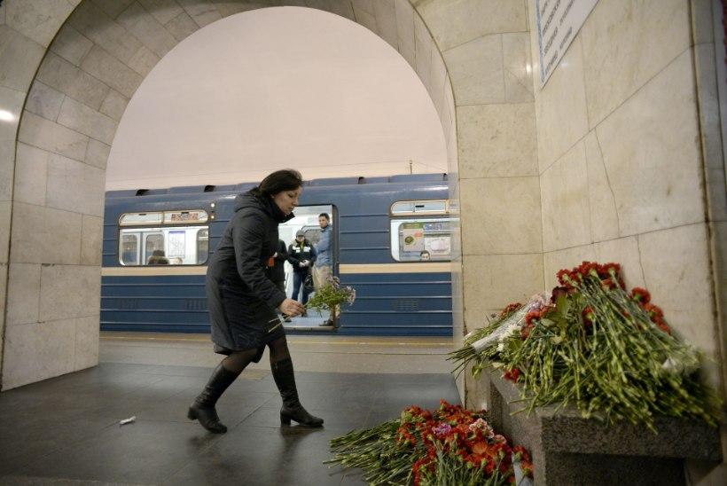 Terrorirünnakust Peterburis ja ka mürkgaasist Süürias