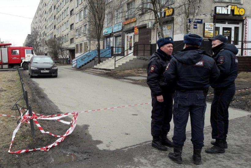 Peterburis tehti kahjutuks lõhkekeha, kinni peeti kolm meest