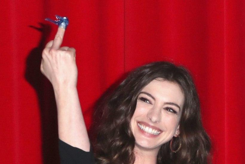Anne Hathaway ei tundnud oma tagumikku ära