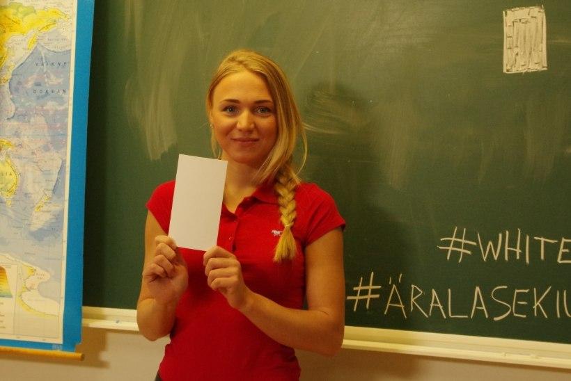 Eesti sportlased astusid valge kaardiga koolikiusamise vastu