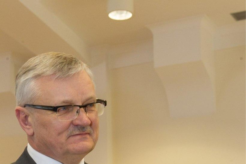 Minister Tamm: Rõivas läks jälleüle piiri
