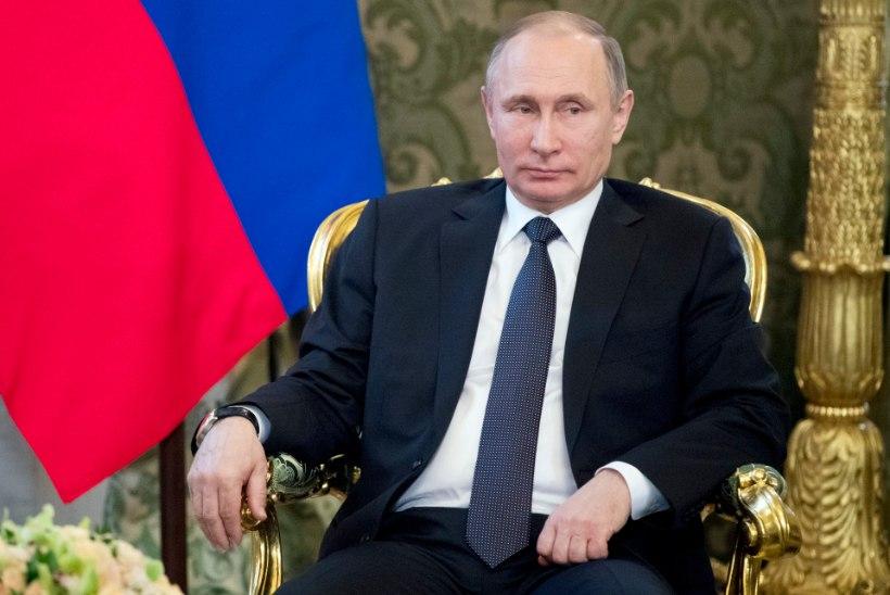 Putin: USA õhurünnak Süüriale oli agressiooniakt