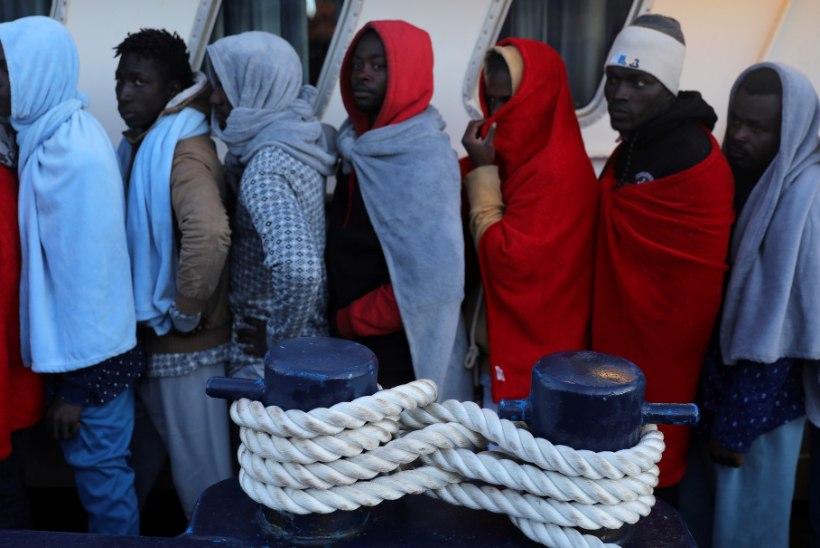 Itaaliasse on toodud Vahemerelt 25 000 põgenikku
