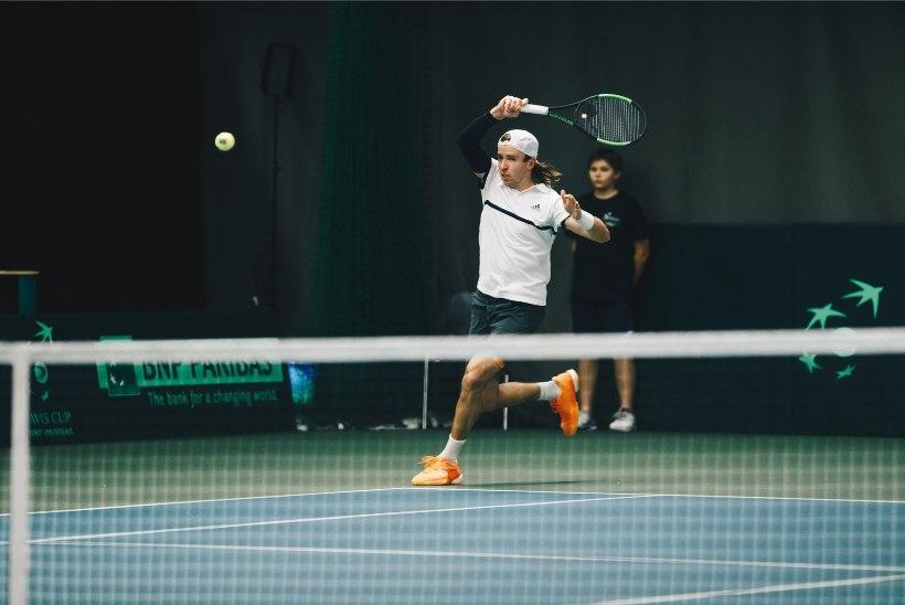 GALERII | Eesti tennisemeeskond asus Monaco vastu 2:0 juhtima