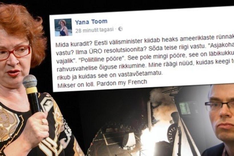NAGU LASTEAED: USA karistusaktsioon Süürias avas Eesti poliitikute turmtule