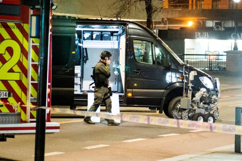 Oslos tehti kahjutuks pommilaadne seadeldis