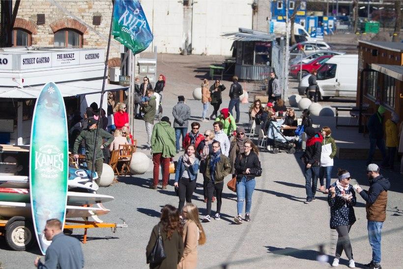 GALERII | Telliskivi tänaval avati Depoo toidutänava suvehooeg