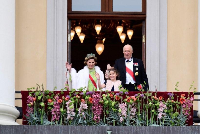 GALERII | Euroopa kroonitud pead kogunesid Norra kuninga ja kuninganna 80. sünnipäevale