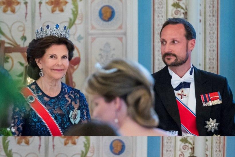 PULLIVEND: Norra prints ajas keset vanemate juubelipidu habeme maha!