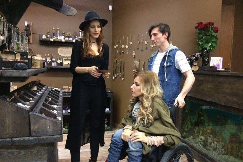 FOTOD   Venemaa eurolaulik külastas Marilyn Kerrot
