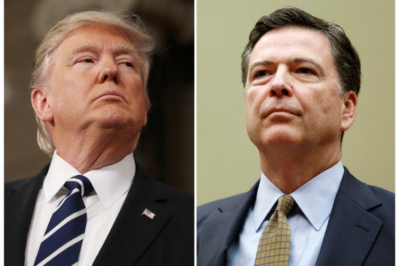Trump vallandas FBI direktori ja kohtus Lavroviga