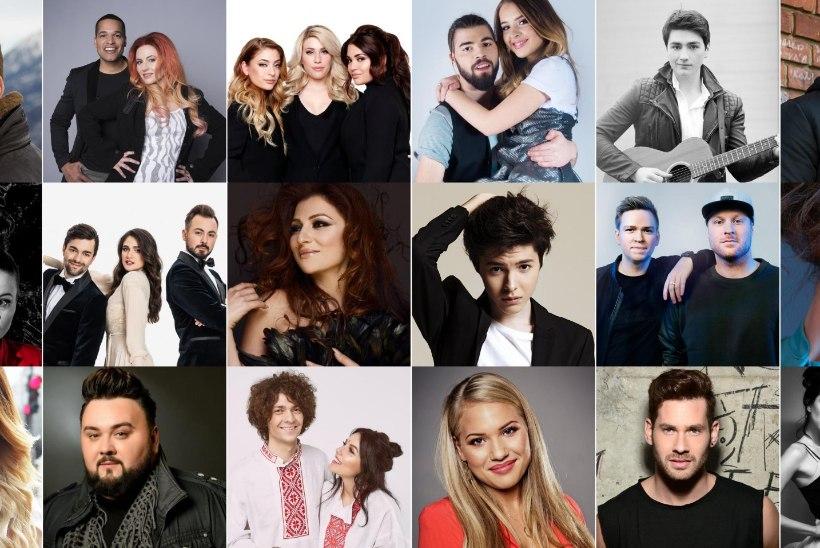 VAATA JA KUULA | Kes pakuvad Eestile konkurentsi Eurovisioni II poolfinaalis?