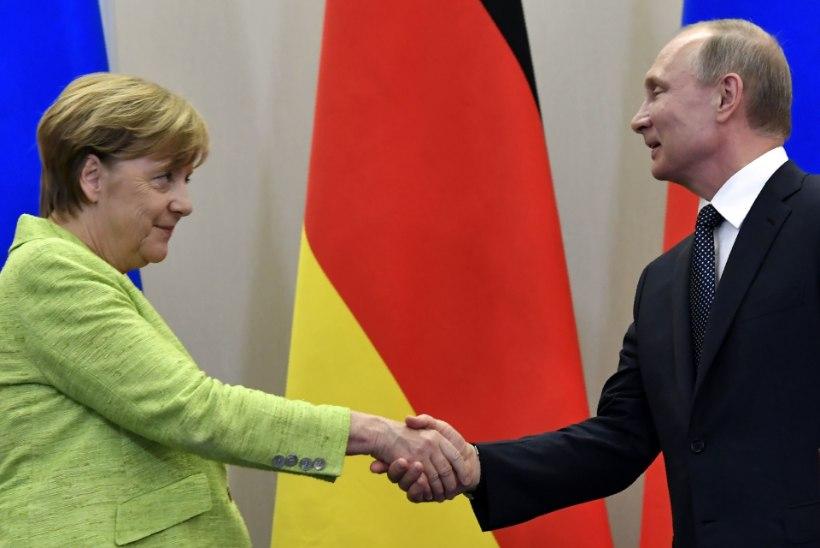KASPAROV HOIATAB: Putin hoiab Merkelit sihikul